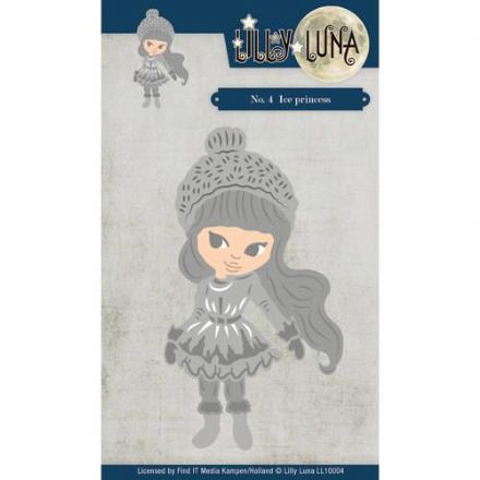 LL10004 ~  Ice Princess DIE ~ Lilly Luna ~ Yvonne Creations